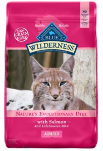 Blue Buffalo Blue Wilderness Adult Salmon Recipe Dry Cat Food