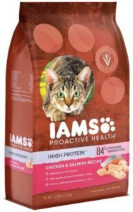 Iams Proactive Health High Protein Adult Dry Cat Food With Chicken & Salmon​