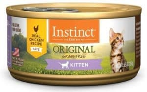 Instinct Original Kitten Grain Free Natural Cat Food