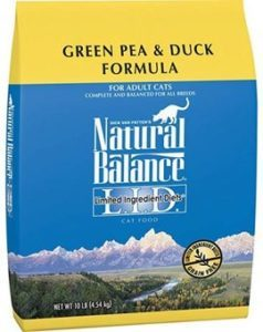 Natural Balance Green Pea and Duck Cat Food Reviews