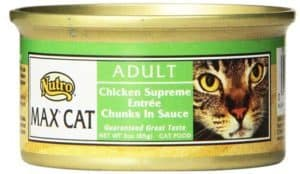 Nutro Max Adult Wet Canned Cat Food Chicken Supreme