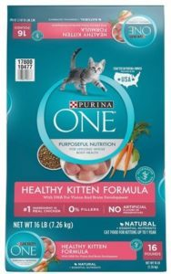 Purina ONE Healthy Kitten Formula Dry Kitten Food