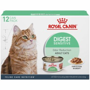 Royal Canin Feline Health Nutrition Digest Sensitive Thin Slice in Gravy Canned Cat Food