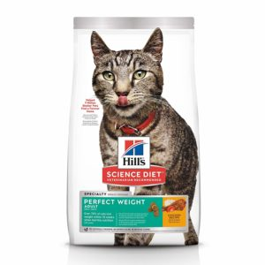 Hill's Science Diet Dry Cat Food, Adult, Perfect Weight, Chicken Recipe for Weight Management
