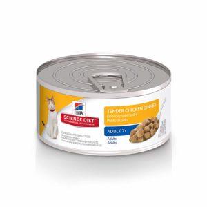 Hill's Science Diet Wet Cat Food, Adult 7+, Tender Chicken