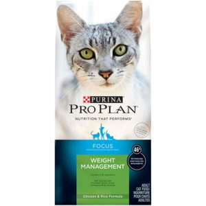 Purina Pro Plan FOCUS Weight Management Adult Dry Cat Food