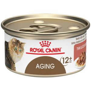 Royal Canin Feline Health Nutrition Aging 12+ Thin Slices in Gravy Wet Cat Food