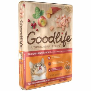 Goodlife Adult Cat Real Chicken And Brown Rice Recipe Dry Cat Food
