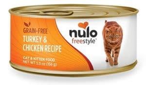 Nulo Adult & Kitten Grain Free Canned Wet Cat Food (Turkey & Chicken Recipe