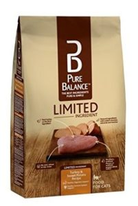 Pure Balance Limited Ingredient Turkey and Sweet Potato Cat Food, 3-Pounds