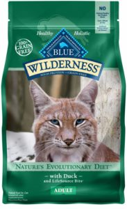 Blue Buffalo Wilderness High Protein Grain Free, Natural Adult Dry Cat Food, Duck