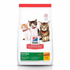 Hill's Science Diet Dry Cat Food, Kitten, Chicken Recipe