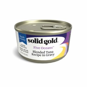 Solid Gold Shreds in Gravy Wet Cat Food