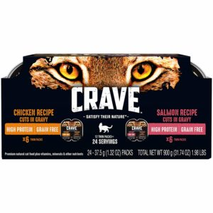 Crave Grain Free High Protein Wet Cat Food Reviews