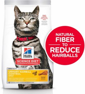 Hill's Science Diet Dry Cat Food, Adult, Urinary & Hairball Control