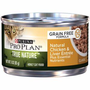 Purina Pro Plan Natural, Wet Cat Food; True Nature